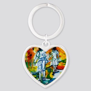 Epee Boys Heart Keychain