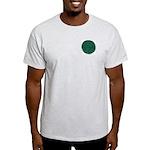 METRO SOCIETY SEAL LOGO Ash Grey T-Shirt