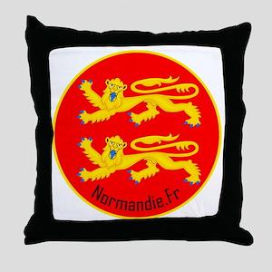 Normandie_Polo 2 Throw Pillow