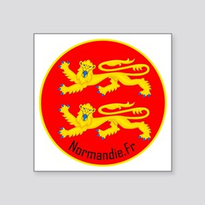 "Normandie_Polo 2 Square Sticker 3"" x 3"""