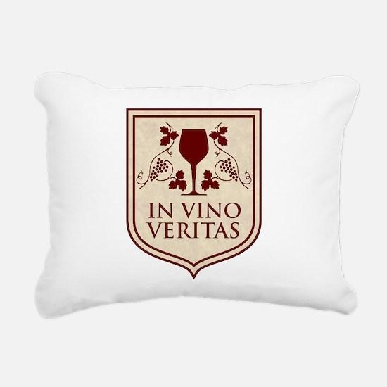 in vino veritas.png Rectangular Canvas Pillow