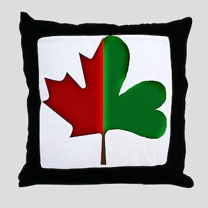 Irish Canadian 3d Throw Pillow
