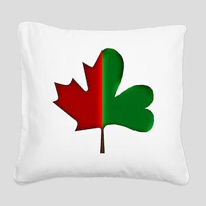 Irish Canadian 3d Square Canvas Pillow
