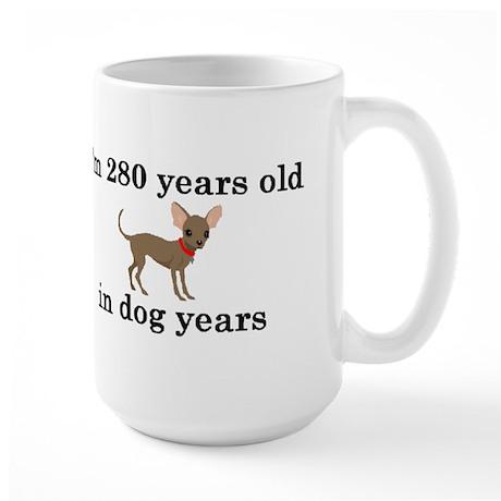 40 birthday dog years chihuahua 2 Mugs