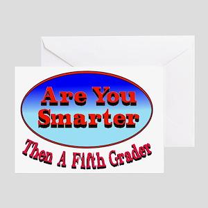 smarter5 Greeting Card