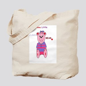 nanas little cubby bear Tote Bag
