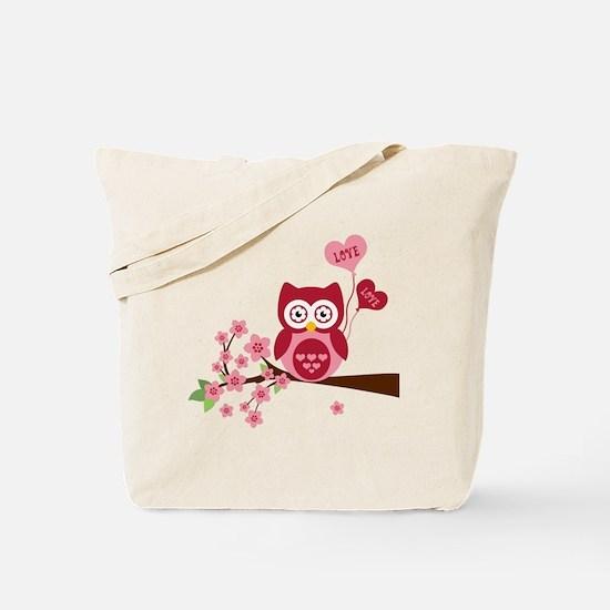 Love You Owl Tote Bag