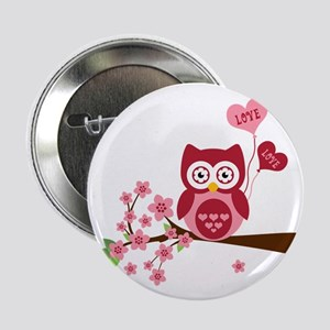 "Love You Owl 2.25"" Button"