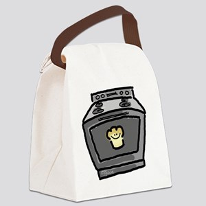 Bun in the Oven-no words Canvas Lunch Bag