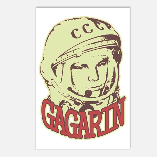 gagarin Postcards (Package of 8)