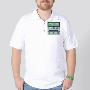 iphone_tricorder Golf Shirt