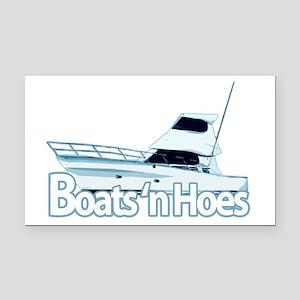 boats1 Rectangle Car Magnet