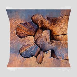LumAb 1 Woven Throw Pillow