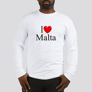 """I Love Malta"" Long Sleeve T-Shirt"