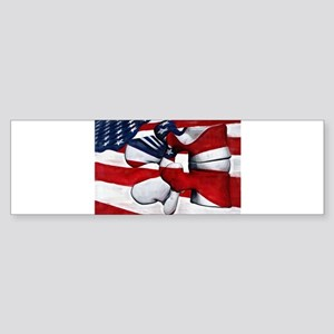 LumFlag Bumper Sticker