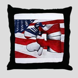 LumFlag Throw Pillow