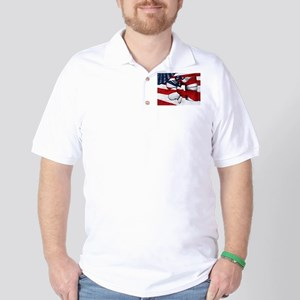 LumFlag Golf Shirt