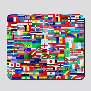 Flag Collage Mousepad