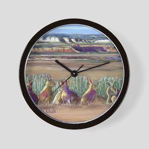 kanab_mousepad Wall Clock