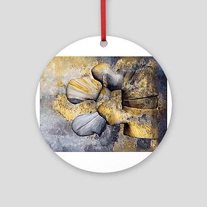 Lumbar Stone Ornament (Round)