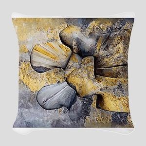Lumbar Stone Woven Throw Pillow