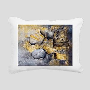 Lumbar Stone Rectangular Canvas Pillow