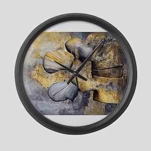 Lumbar Stone Large Wall Clock