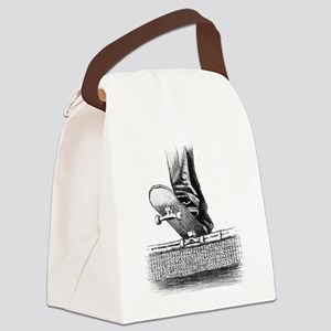 Drop in design Canvas Lunch Bag