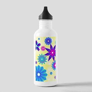 441_flower Stainless Water Bottle 1.0L