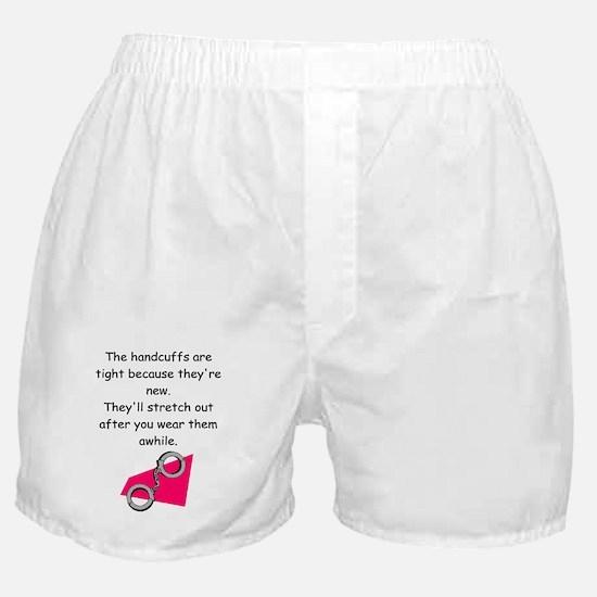 handcuffs Boxer Shorts