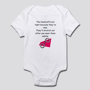 handcuffs Infant Bodysuit