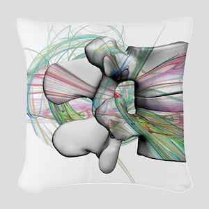 lumbar 17 Woven Throw Pillow