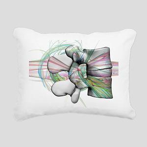 lumbar 17 Rectangular Canvas Pillow