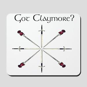 got-claymore003c Mousepad
