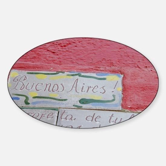 bsas Sticker (Oval)