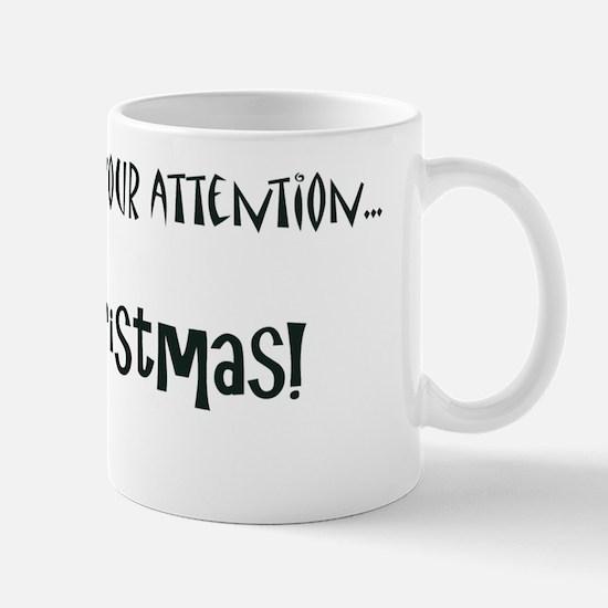 Christmas Card inside Mug
