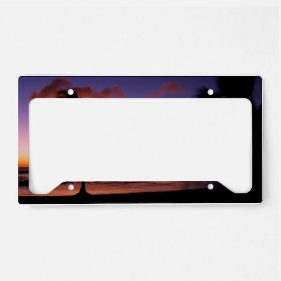 poipu_01 License Plate Holder