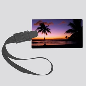 poipu_01 Large Luggage Tag