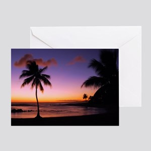 poipu_sunset Greeting Card