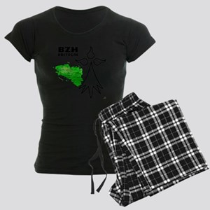 Bretagne_T-Shirt 5 Women's Dark Pajamas