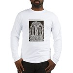 Medieval Death/ Reaper in the Long Sleeve T-Shirt