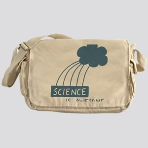 ScienceIsAwesome_dark Messenger Bag