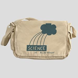 ScienceIsAwesome_dark Messenger Bag