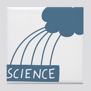 ScienceIsAwesome_dark Tile Coaster