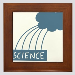 ScienceIsAwesome_dark Framed Tile