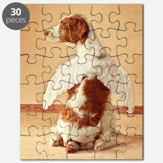 brittany angel mouse pad Puzzle