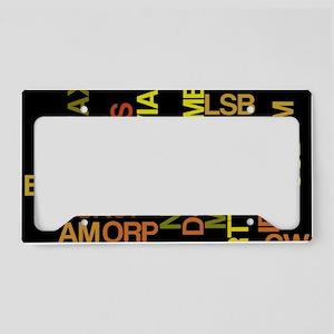 HamModes License Plate Holder
