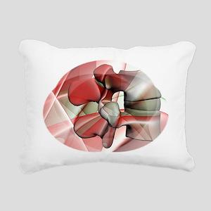 lum 124 Rectangular Canvas Pillow