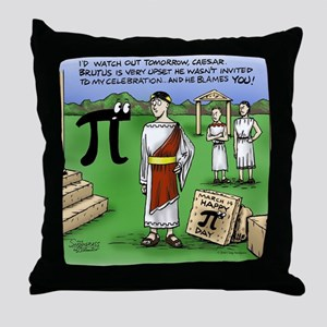 Pi_48 Caesar Ides of March (10x10 Col Throw Pillow