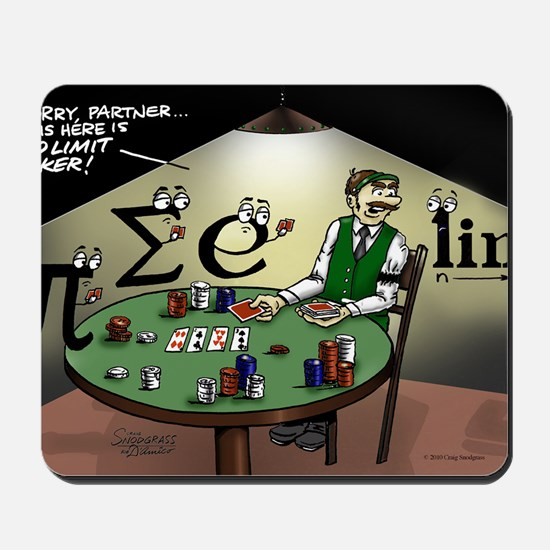 Pi_47 No Limit Poker (6.55x4.5 Color) Mousepad